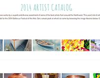 Bellevue Festival of the Arts Website + Graphics