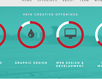 Vein Branding Creative Agency Site