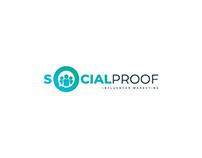 SocialProof Logo design