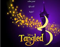 Disneys Tangled alternative movie poster