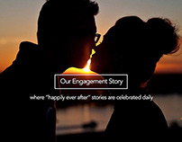 Our Engagement Story Website