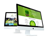Gardening and floral design landing page
