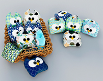 Owls plush