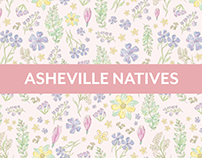 Asheville Natives / Pattern Collection