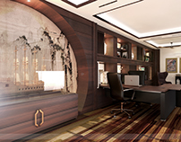 Oriental come with Contemporary approach Home Office