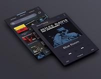 Blue Music App