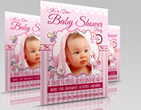 Baby Shower Flyer Template Vol.2