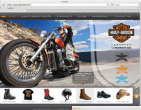 Harley-Davidson Boots - Landing Pages