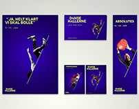 Visual identity for Dansehallerne
