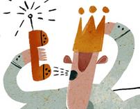 "Illustrations for ""SEO"" magazine"