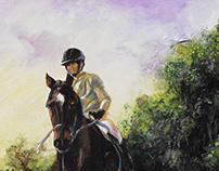 Painting—Twilight Ride