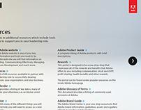 Adobe Senior Leader Onboarding app