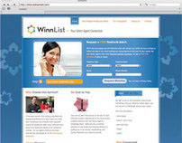 WinnList - Logo and Website Design