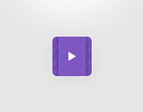 Minimal Video Icon