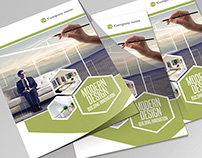 Modern Design - InDesign Bifold Brochure