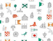 V&A waterfront wrapping paper
