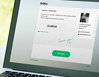 PayMe – Designing an invoice payment process