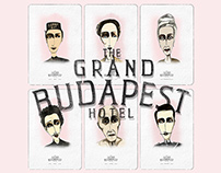 Characters of the GRAND BUDAPEST
