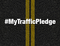 #MyTrafficPledge Campaign Artworks