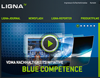 Ligna Website Relaunch