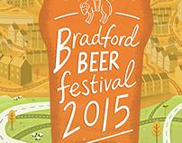 Bradford Beer Festival 2015 poster