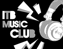 ITB Music Club 2014 - Roundneck Shirt
