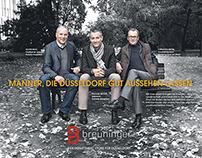 Breuninger Düsseldorf Bekenner Kampagne HAKA