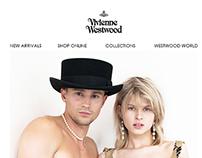 Vivienne Westwood Newsletters Design