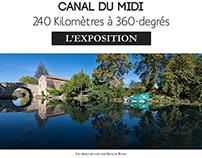 Canal du Midi - L'exposition