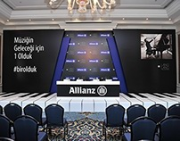 ALLIANZ  - LANG LANG stage sahne