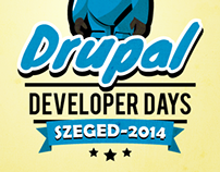 Drupal Dev' Days logo – Szeged 2014