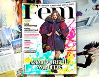 Fem - Fashion Emotion Magazine - Novembre 2014