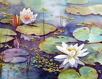 """""""Water lily_2"""""""