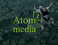 Brand design for Digital Agency Atomz Media