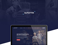 Autotym | Homepage redesign concept