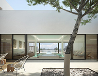 Architectural renderings of the Tarida Beach