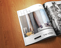 Palazzo // Brochure and Magazine Ad Design