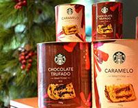 Embalagem Panettone Natal Starbucks Brasil  - 2014