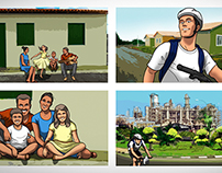 Storyboard: Bahia Government Campaign