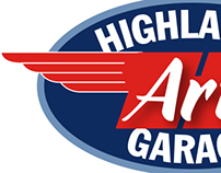 Highlands Art Garage Logo