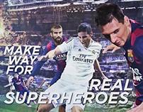 Barcelona & Real Madrid El Classico / BeIN SPORTS
