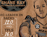Shane Ray - All America promotion