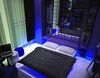 bedroom design (3dsmax)