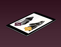Diva ipad magazine | עיצוב מזגין לאייפד