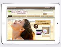 Coconut Oil Care: Website & Branding