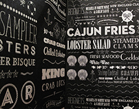 CajunSea Seafood Restaurant Graphics