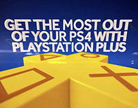 PlayStation Plus PS4 Trailer