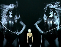 I Love Me fashion show 2014 projections