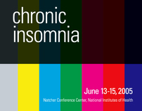 Chronic Insomnia Conference Poster and Invitation