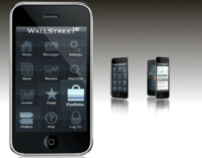 Motion Graphics, WallStreet*E Mobile Trading App